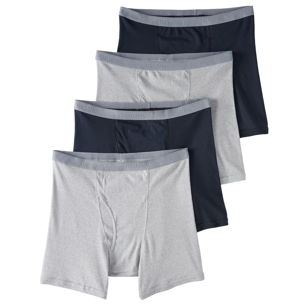 Men's Fruit of the Loom® Signature Big Man Assorted Boxer Brief (4-pack)