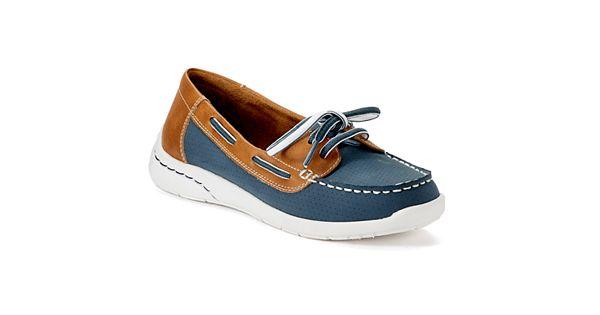 Croft Barrow Women S Ortholite Boat Shoes