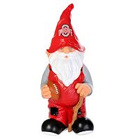 Forever Collectibles Ohio State Buckeyes Garden Gnome