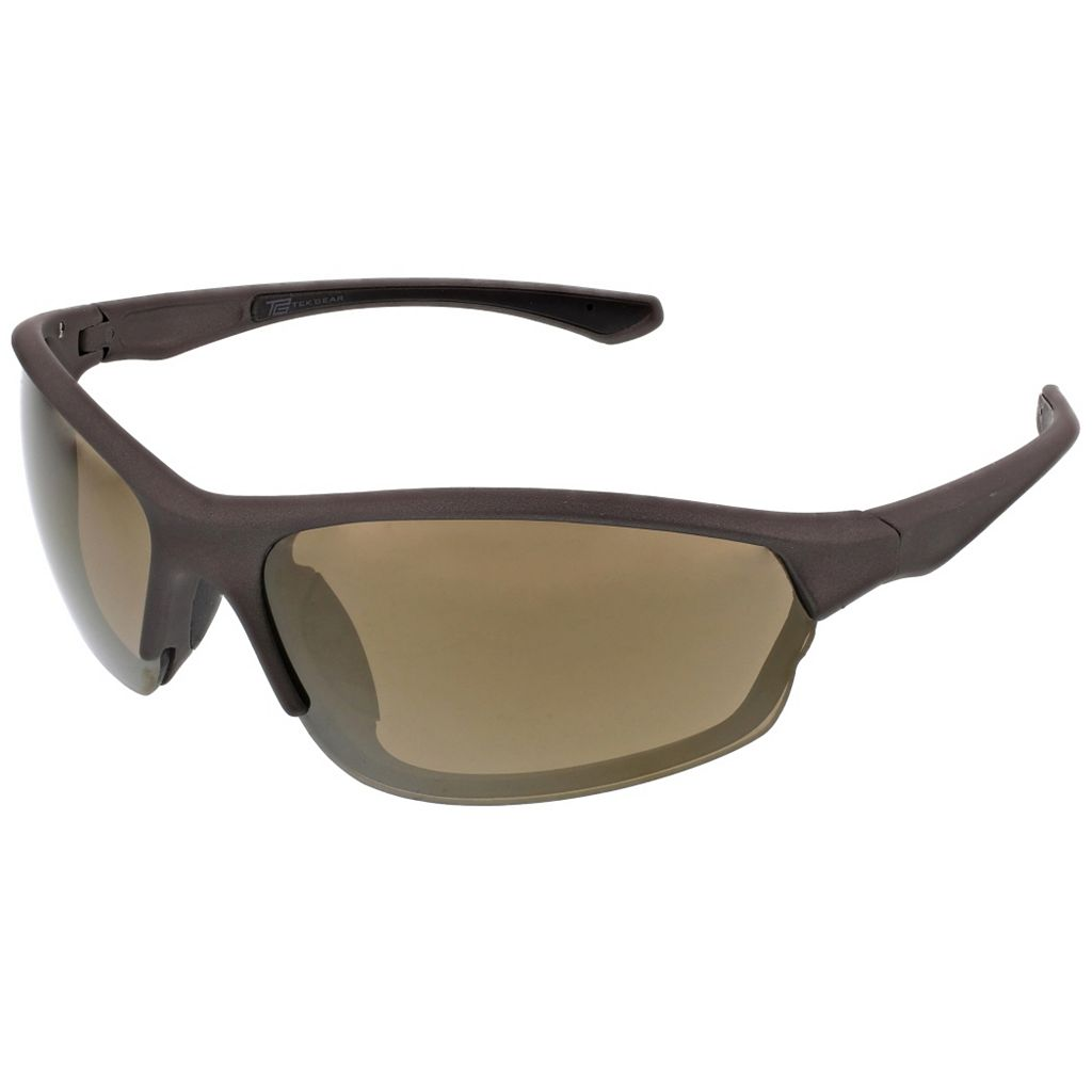 Men's Tek Gear® Semirimless Wrap Sunglasses