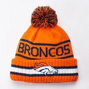 Adult New Era Denver Broncos Vintage Select Knit Beanie