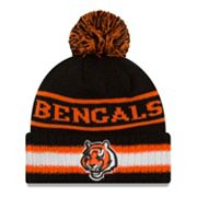Adult New Era Cincinnati Bengals Vintage Select Knit Beanie