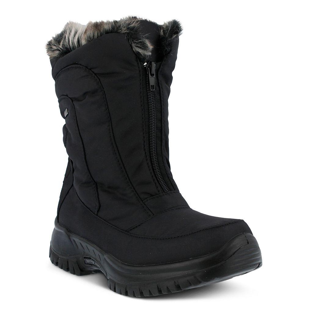 Spring Step Zigzag Women's Waterproof Winter Boots