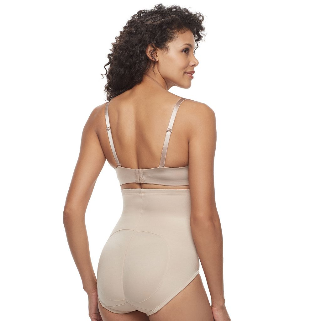 Naomi & Nicole Shape It Up Rear Lift High-Waisted Brief Shaping Panty 7405
