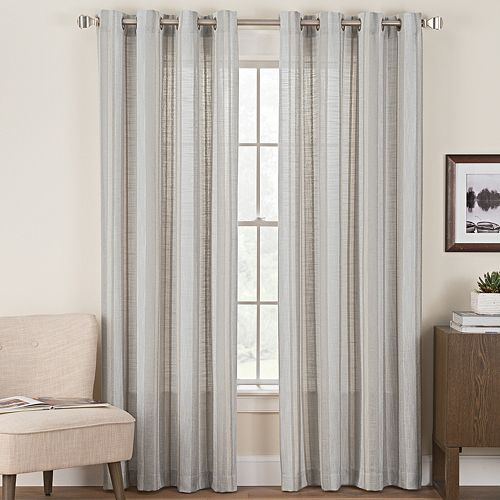 Hudson Hill 1-Panel Stuley Window Curtain