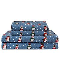 Grand Collection Cozy Nights Flannel Sheet Set