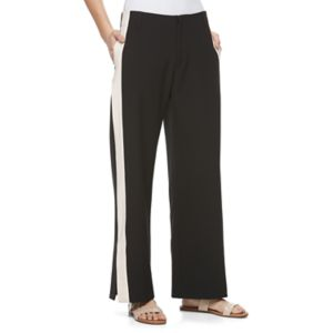 Juniors' Jolie Vie High-Waist Striped Lounge Pants