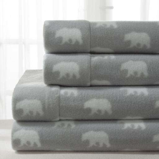 Grand Collection Cozy Nights Micro Fleece Sheet Set