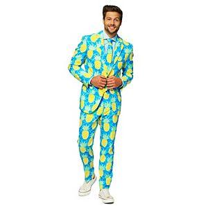 Men's OppoSuits Slim-Fit Novelty Suit & Tie Set