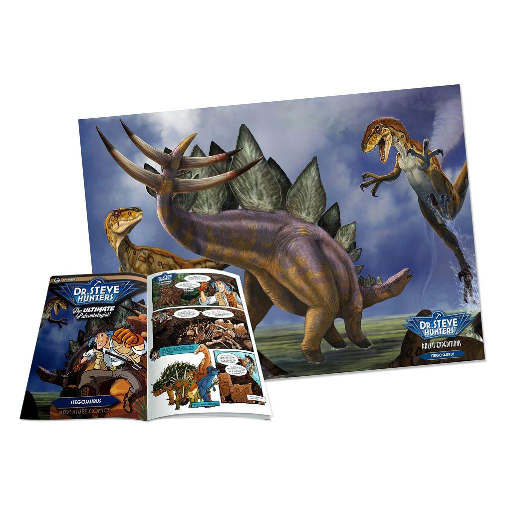Geoworld Dr. Steve Hunters Paleo Expeditions Stegosaurus Dinosaur Excavation Kit