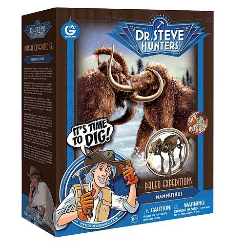 Geoworld Dr. Steve Hunters Paleo Expeditions Mammuthus Dinosaur Excavation Kit