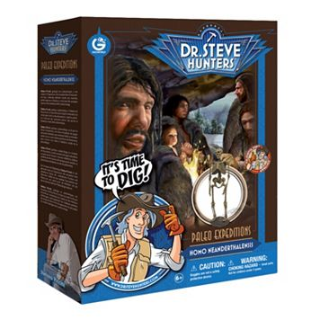 Geoworld Dr. Steve Hunters Paleo Expeditions Dino Excavation Kit - Homo Neanderthalensis