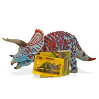 Geoworld Dr. Steve Hunters Large Jurassic Action Triceratops Dinosaur