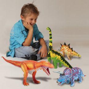 Geoworld Dr. Steve Hunters Large Jurassic Action Triceratops Dinosaur