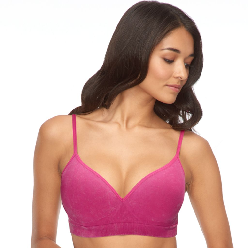 Juniors' SO® Bras: Wire Free Seamless Bralette