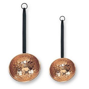 Old Dutch 2-pc. Hammered Copper Ladle Set