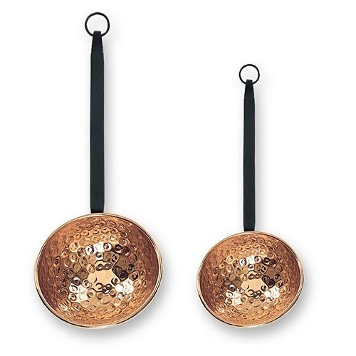 Old Dutch 2-pc. Hammered Copper Ladle Set