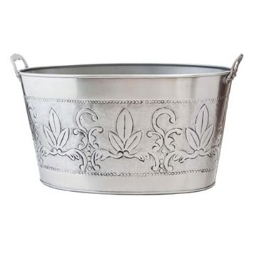 Old Dutch Victorian Pewter Party Tub