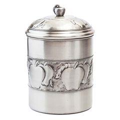 Old Dutch Antique-Embossed Apple Cookie Jar