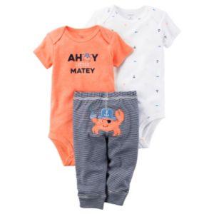 Baby Boy Carter's 3-pc. Nautical Bodysuits & Pants Set