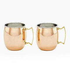 Old Dutch 2-pc. Copper Moscow Mule Set