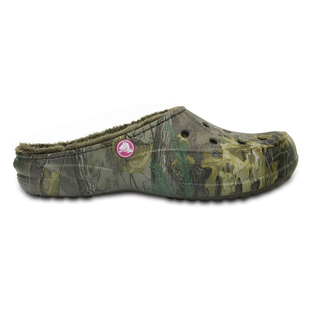 Crocs Freesail Realtree Xtra Women's Lined Clogs