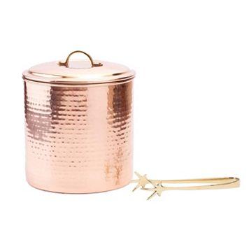 Old Dutch Hammered Copper Ice Bucket