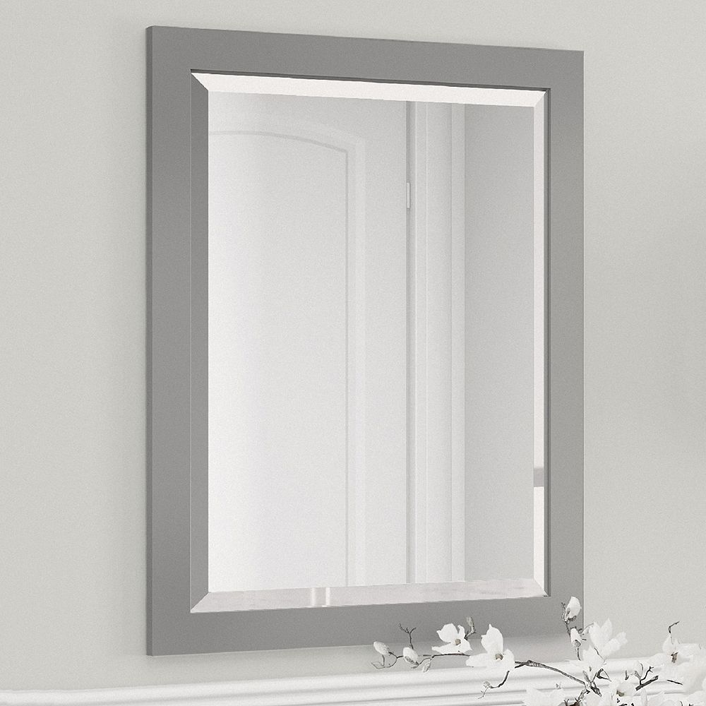 Bathroom vanity wall mirror - Bolton Framed Bathroom Vanity Wall Mirror