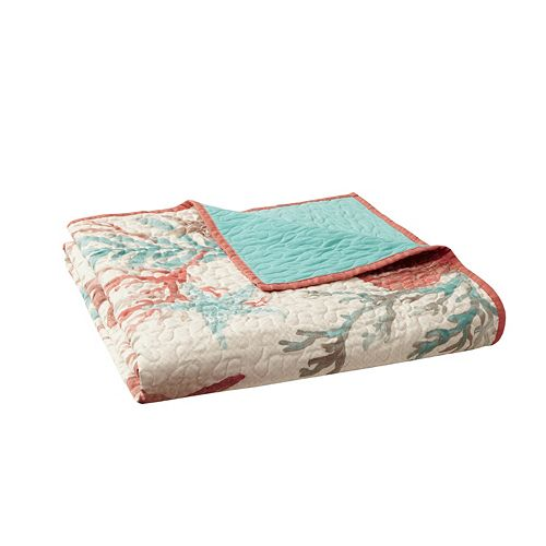 Madison Park Pebble Beach Oversized Quilted Throw