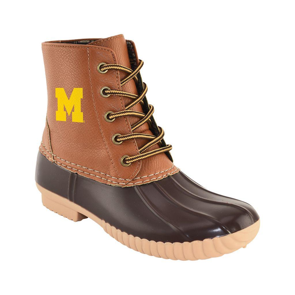 Women's Primus Michigan Wolverines Duck Boots