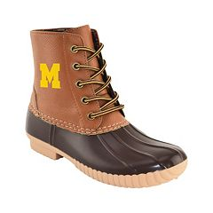 Women's Primus Michigan Wolverines Duck Boots