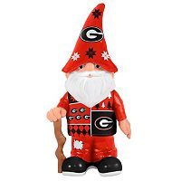 Forever Collectibles Georgia Bulldogs Ugly Sweater Garden Gnome