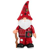 Forever Collectibles Louisville Cardinals Ugly Sweater Garden Gnome