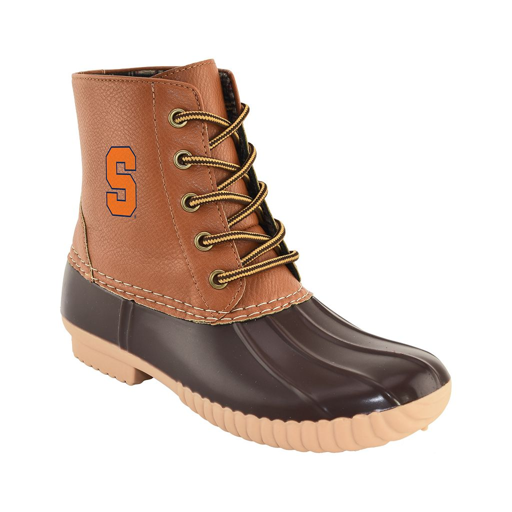 Women's Primus Syracuse Orange Duck Boots