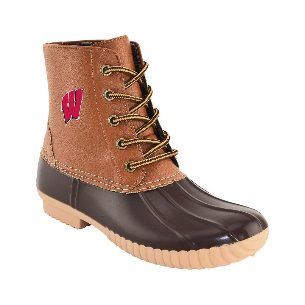 Women's Primus Wisconsin Badgers Duck Boots