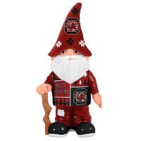 Forever Collectibles South Carolina Gamecocks Ugly Sweater Garden Gnome