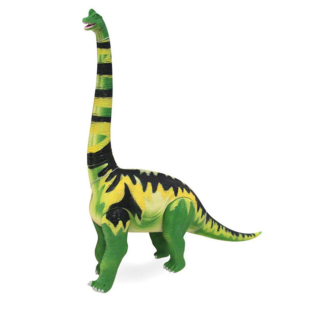 Geoworld Dr. Steve Hunters Large Jurassic Action Brachiosaurus Dinosaur