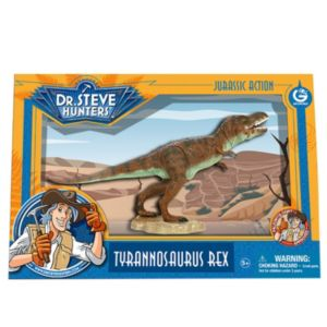 Geoworld Dr. Steve Hunters Medium Jurassic Action T. Rex Dinosaur