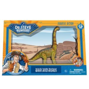 Geoworld Dr. Steve Hunters Medium Jurassic Action Brachiosaurus Dinosaur