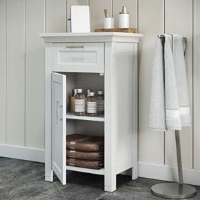 RiverRidge Home Somerset One Door Storage Floor Cabinet