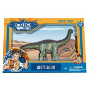 Geoworld Dr. Steve Hunters Medium Jurassic Action Apatosaurus Dinosaur