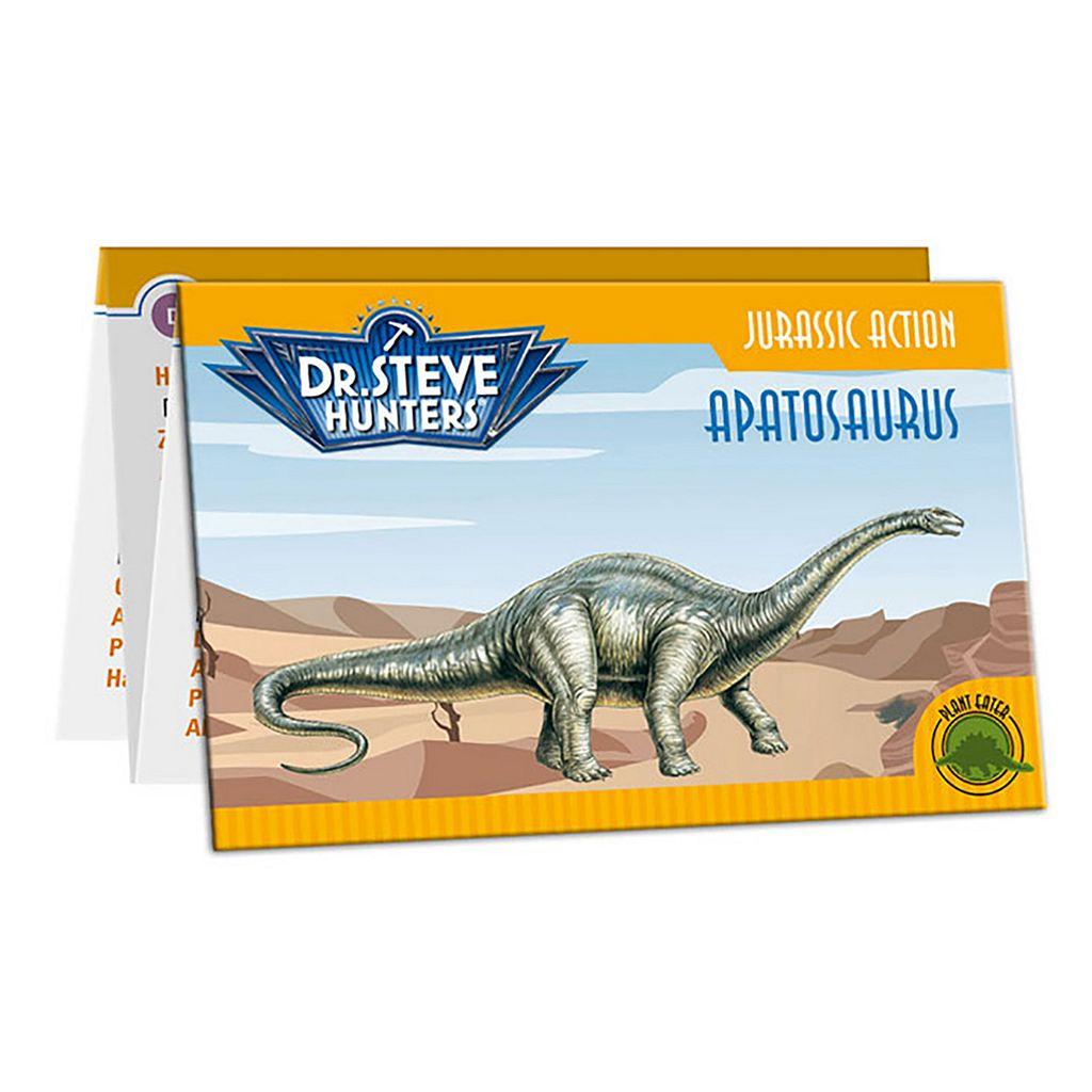 Geoworld Dr. Steve Hunters Medium Jurassic Action Apatosaurus Dinosaur