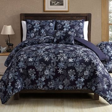 VCNY Scroll Snowflake Comforter Set