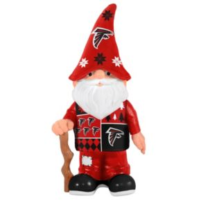 Forever Collectibles Atlanta Falcons Ugly Sweater Garden Gnome