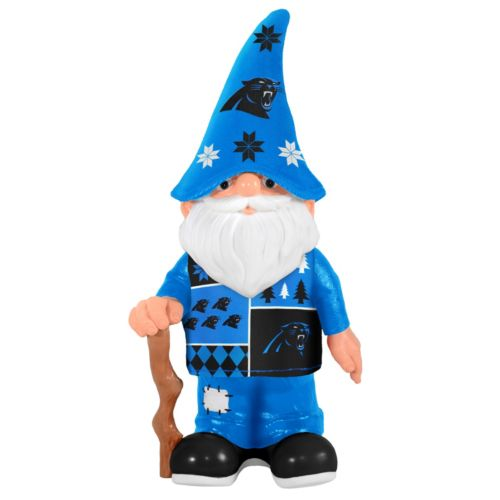 Forever Collectibles Carolina Panthers Ugly Sweater Garden Gnome