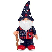 Forever Collectibles Houston Texans Ugly Sweater Garden Gnome