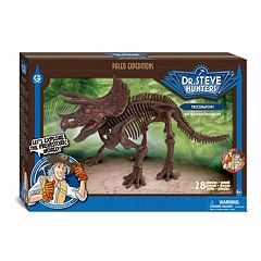 Geoworld Dr. Steve Hunters Paleo Expeditions Kit Triceratops Dinosaur by