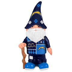 Forever Collectibles San Diego Chargers Ugly Sweater Garden Gnome