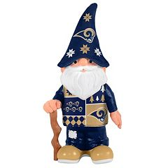 Forever Collectibles Los Angeles Rams Ugly Sweater Garden Gnome