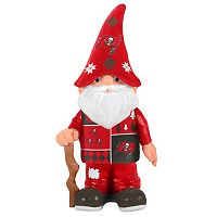 Forever Collectibles Tampa Bay Buccaneers Ugly Sweater Garden Gnome